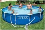 Бассейн каркасный INTEX 28218 для дачи или загородного дома