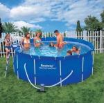 Бассейн каркасный Bestway Steel Pro Frame Pool 366*122 см