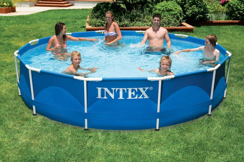 как собрать бассейн Intex видео инструкция - фото 9